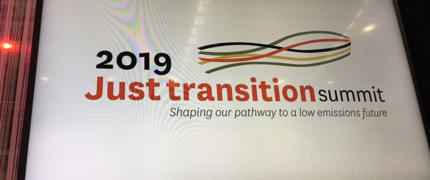 The Just Transition summit