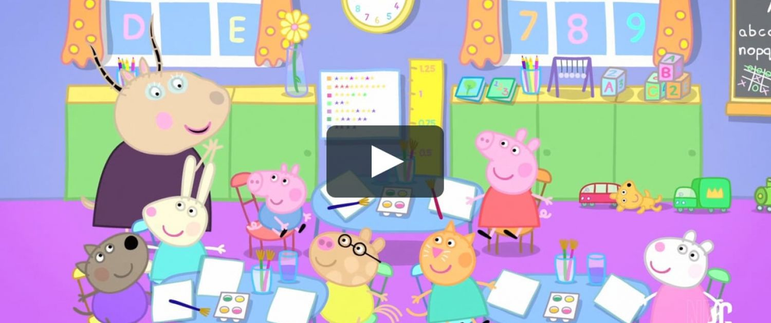 Peppa Pig and her friends