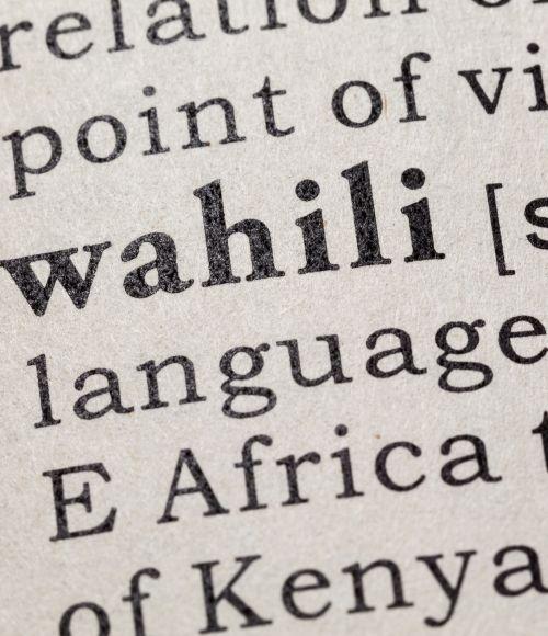 ThinkPlace Kenya staff taking language classes as part of their designer toolkit