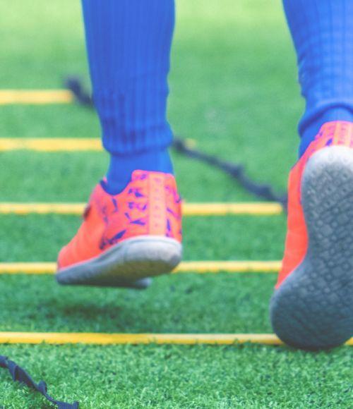 an agile athlete